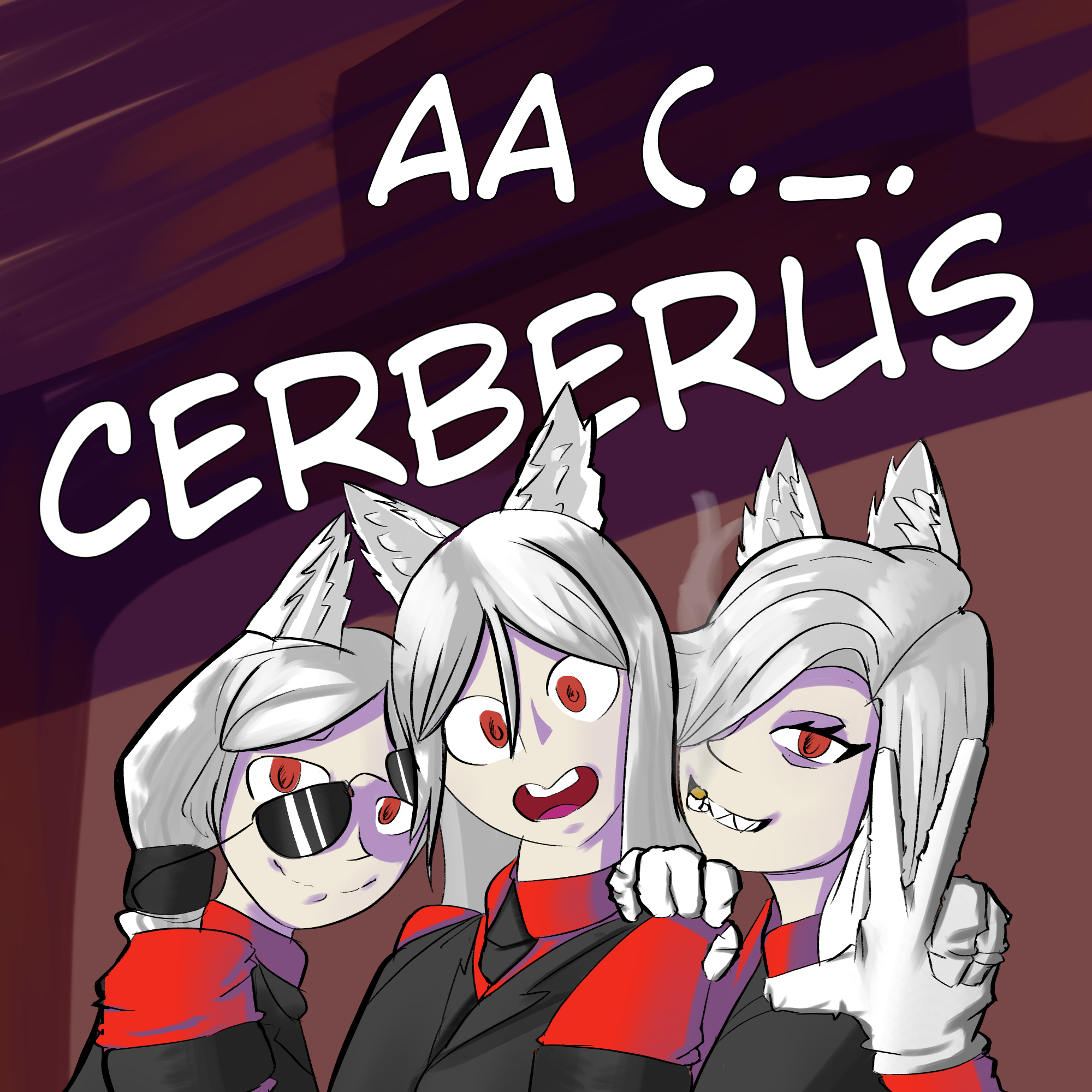 Cerberus Song Cover Art By Naenaedboi On Newgrounds