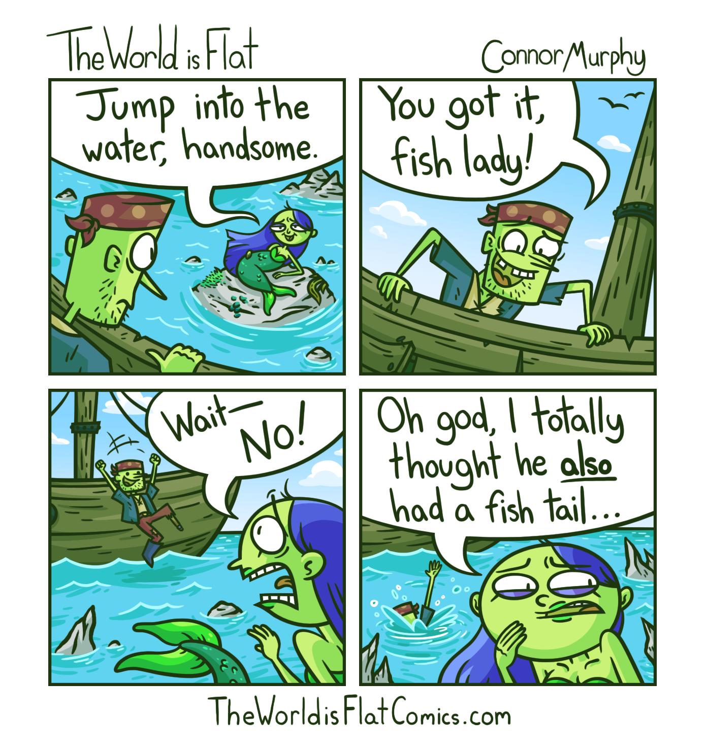 Mermaid's Mistake
