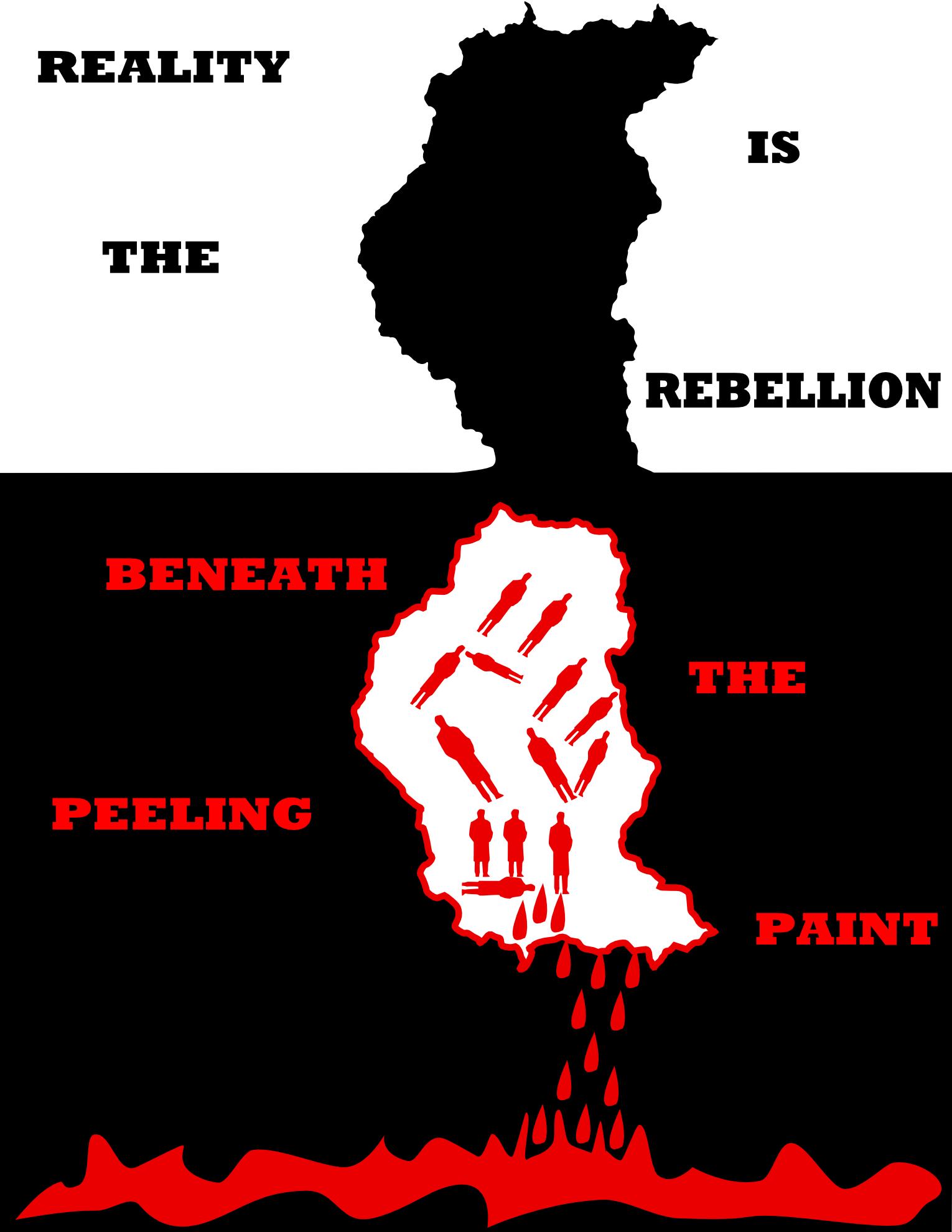 Beneath Peeled Paint