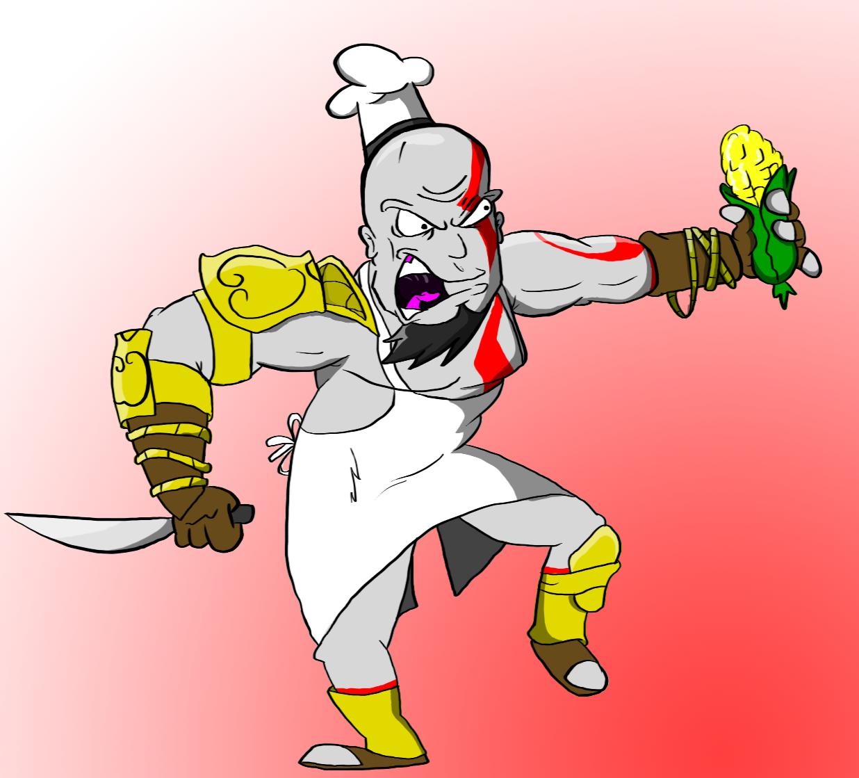 Kratos: God of Corn
