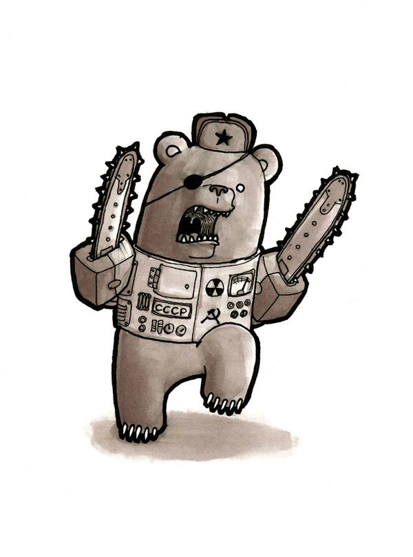 Komrade Bearsaw