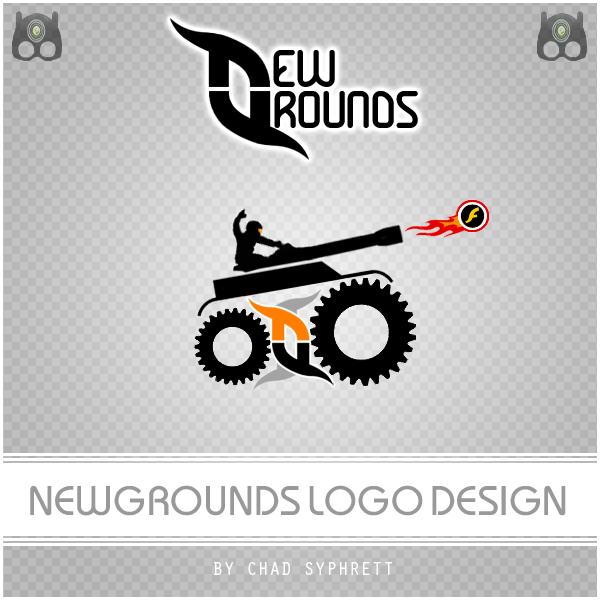 NewGrounds Logo Chad Syphrett