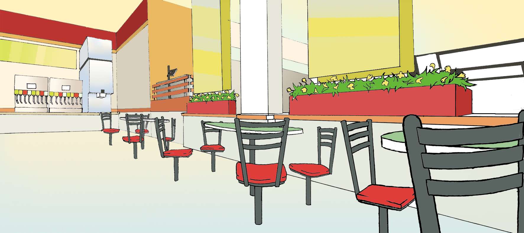 Fast Food Background 2