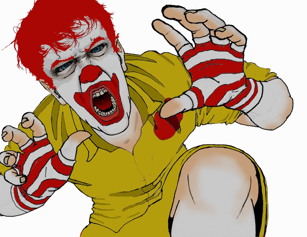 Fast Food Clown