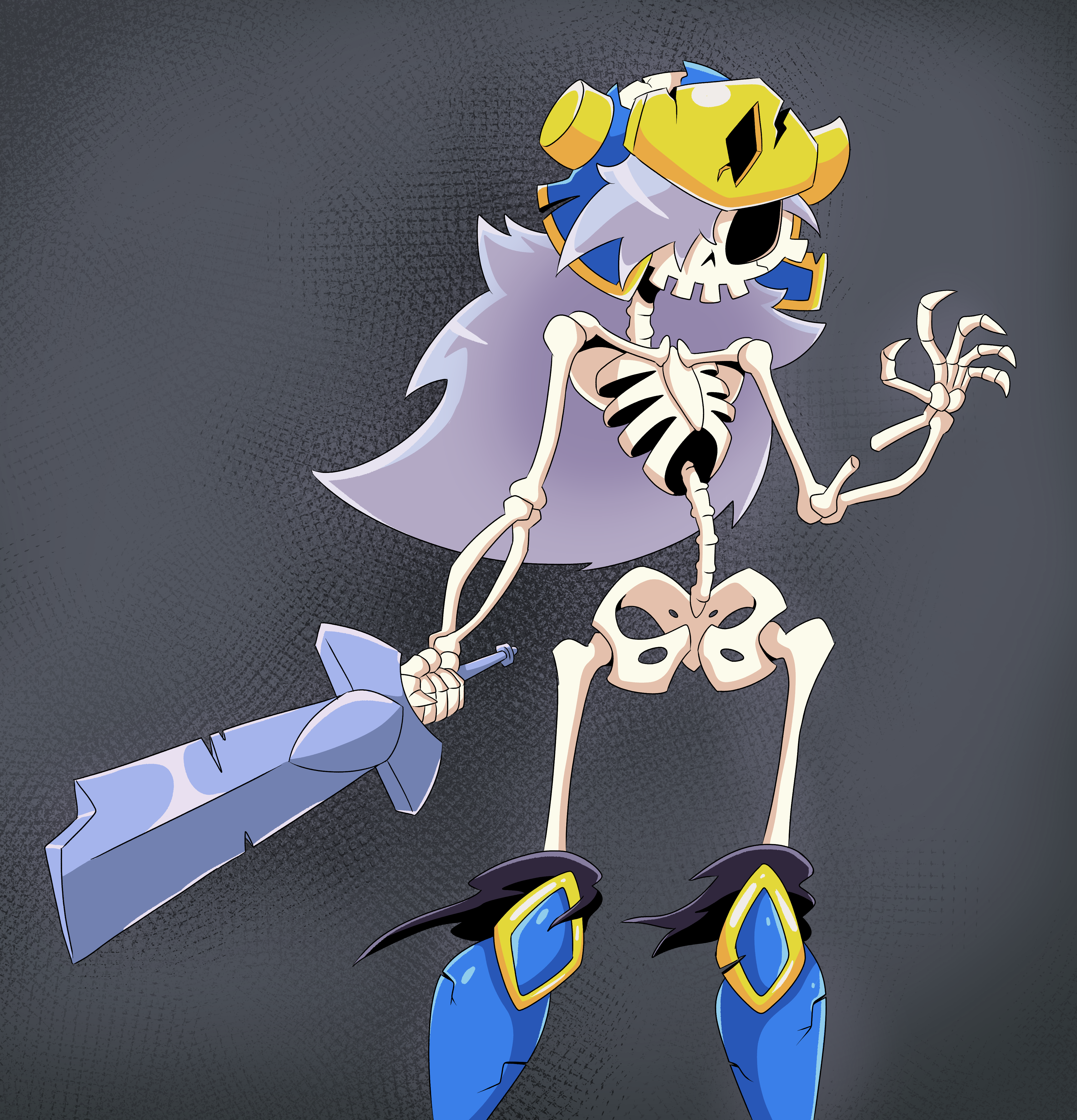 skeleton Booby Knight 2.0