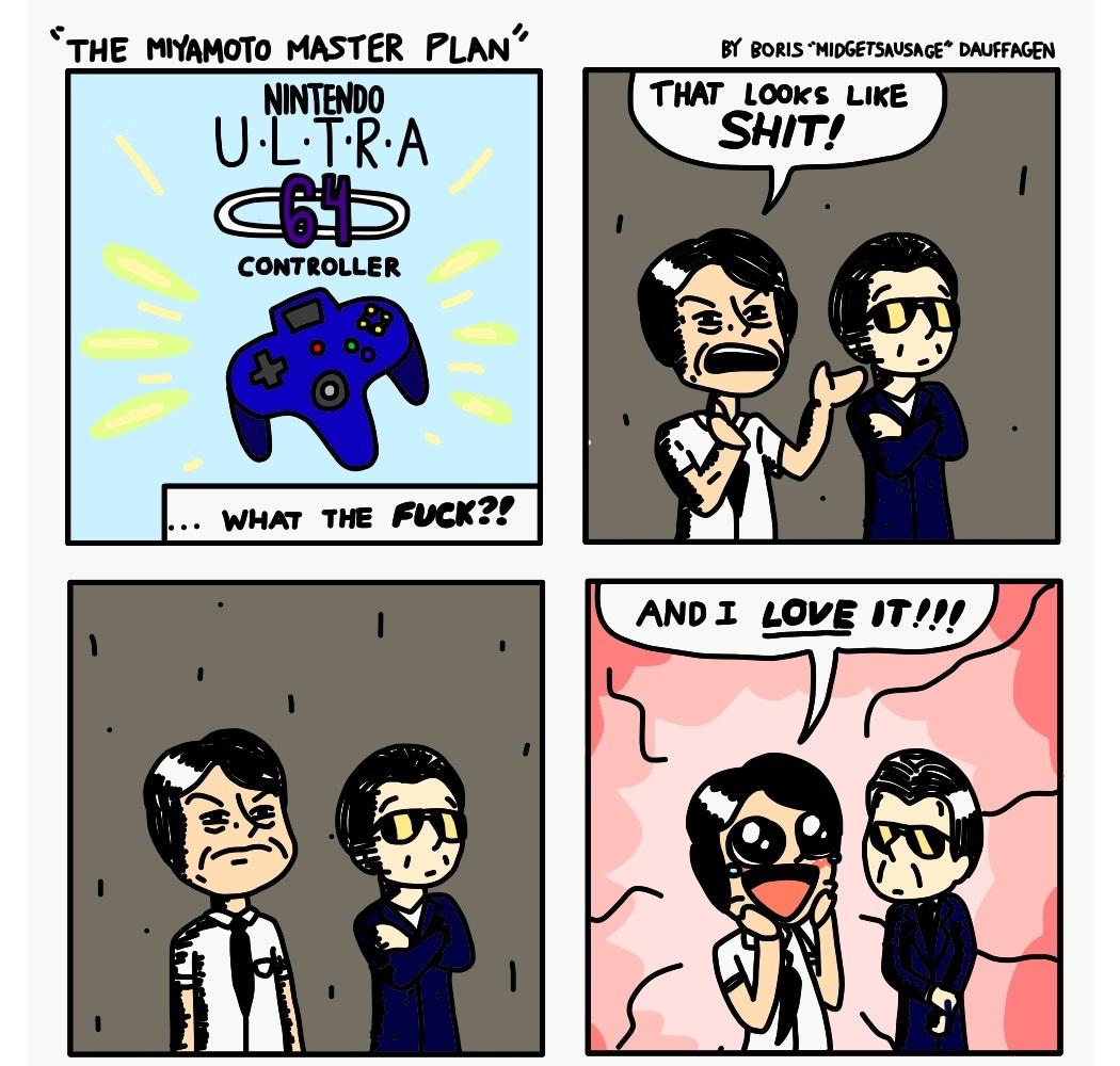 The Miyamoto Master Plan