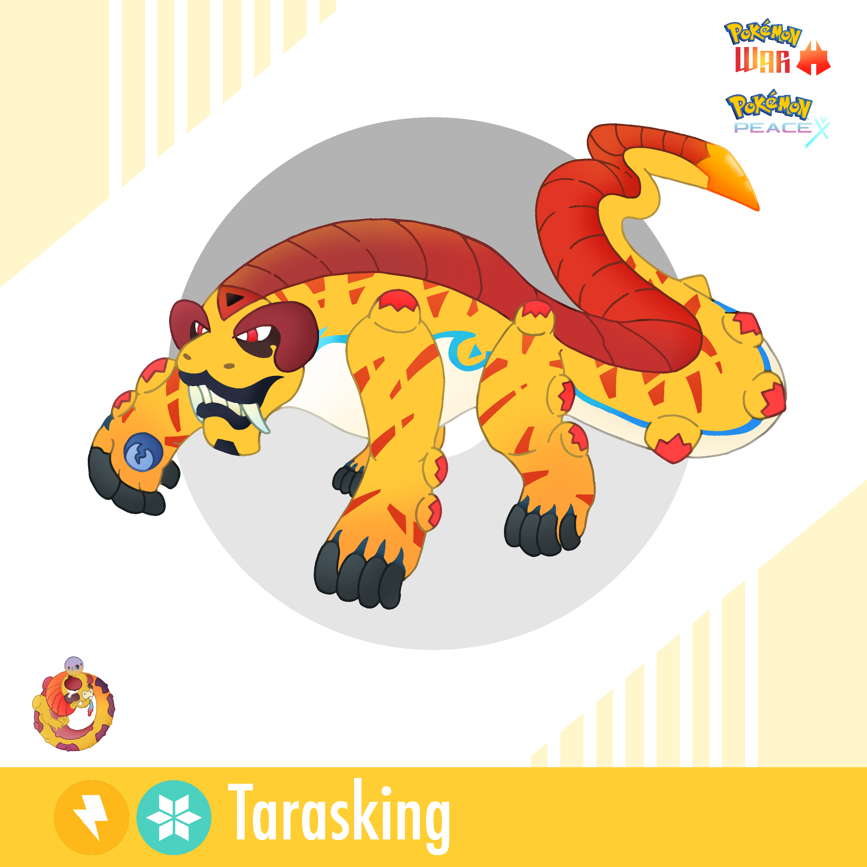 Pokemon War & Peace - Tarasking