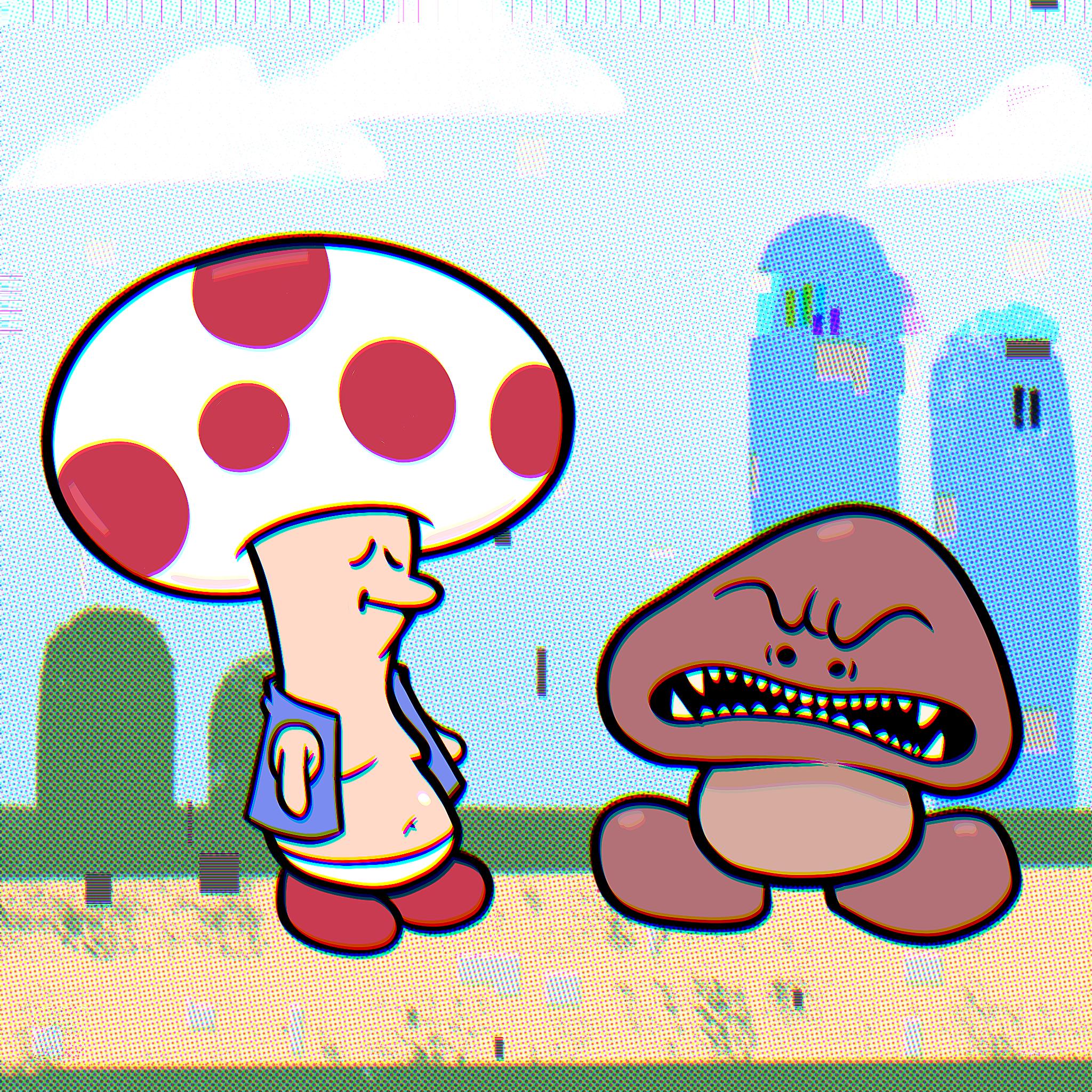 Toad & Goomba