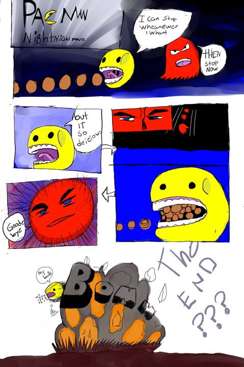 pacman nightmare the comic