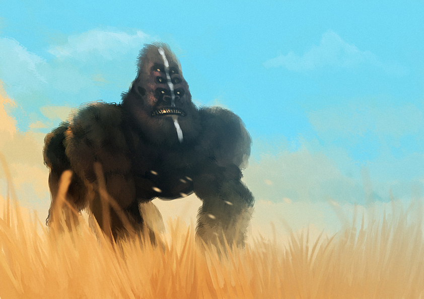 mutant gorilla