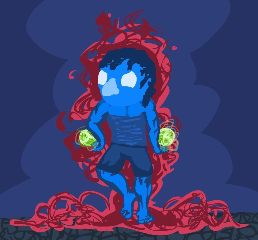 blue dude srs