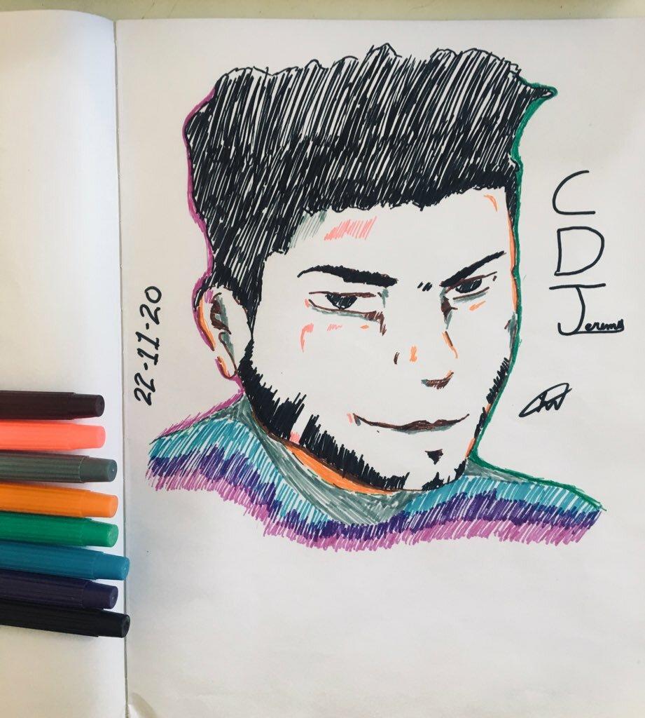 Draw myself just for fun