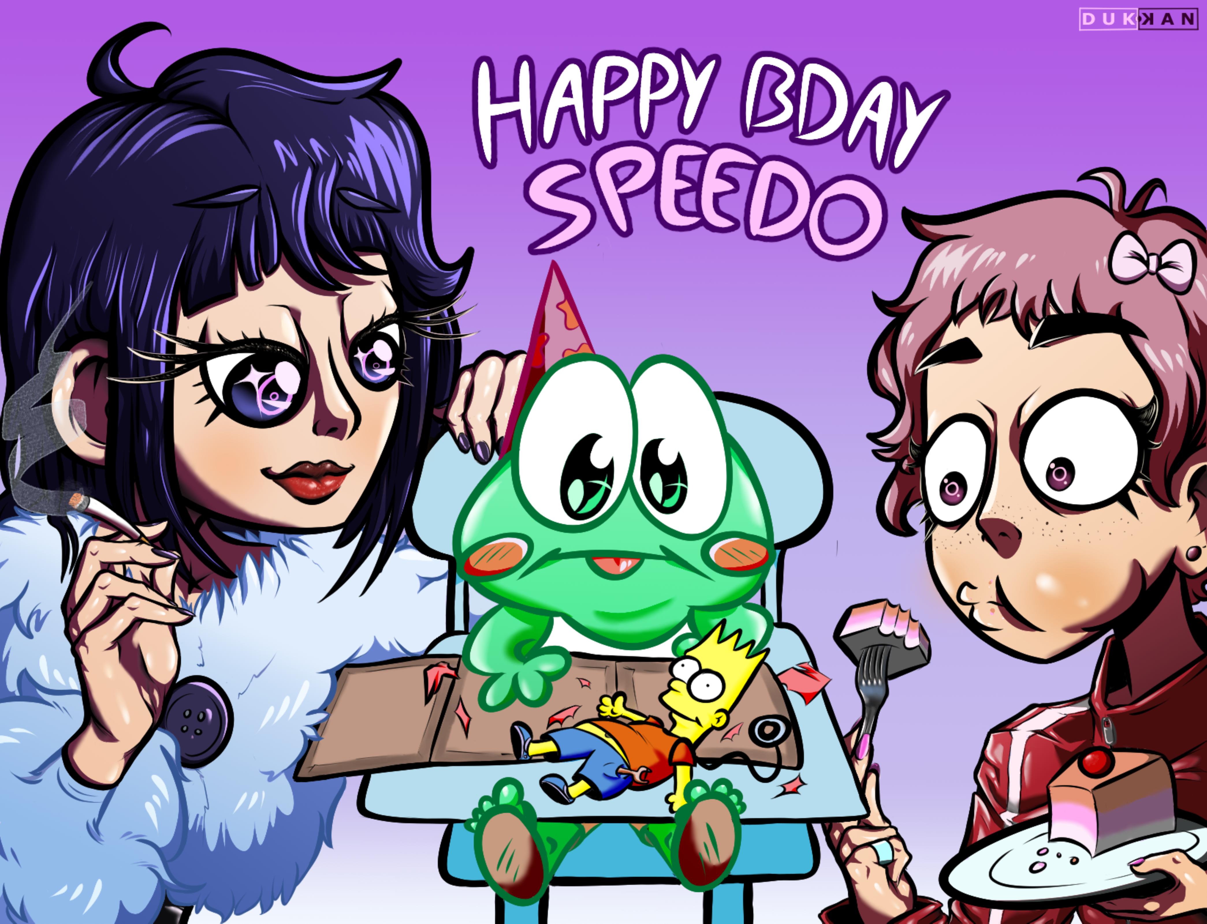 Speedo's (late) Bday