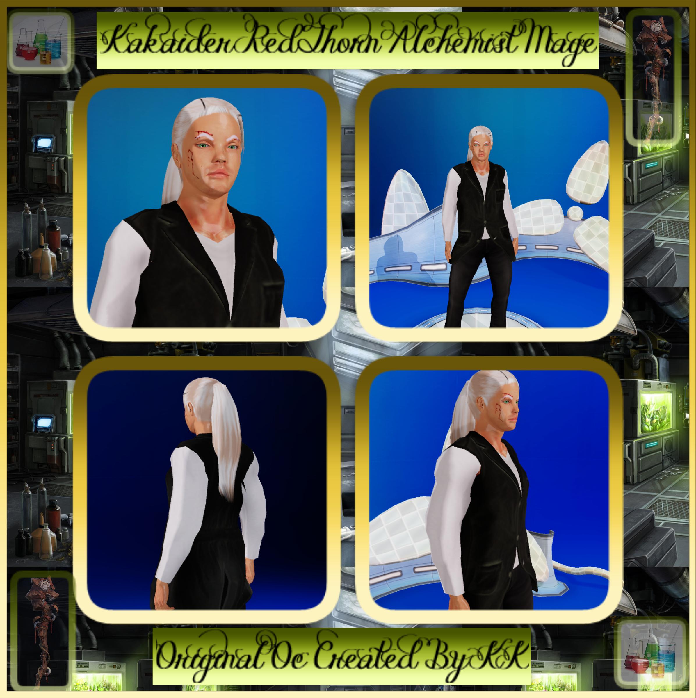 Kakaider RedThorn The Alchemist Mage
