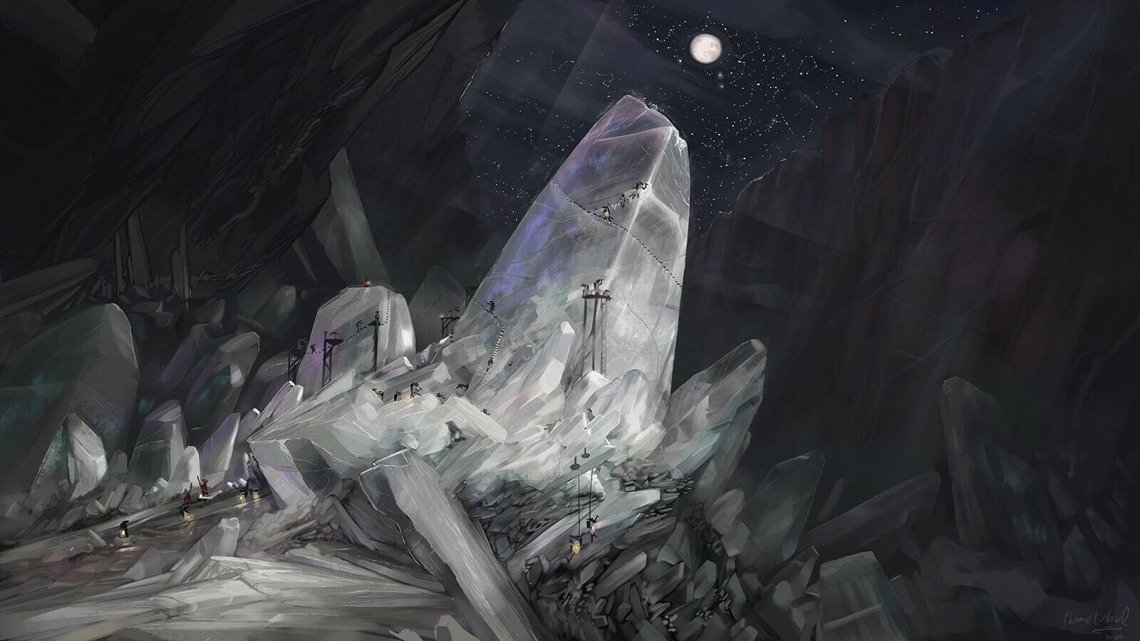 Work in the salt mine