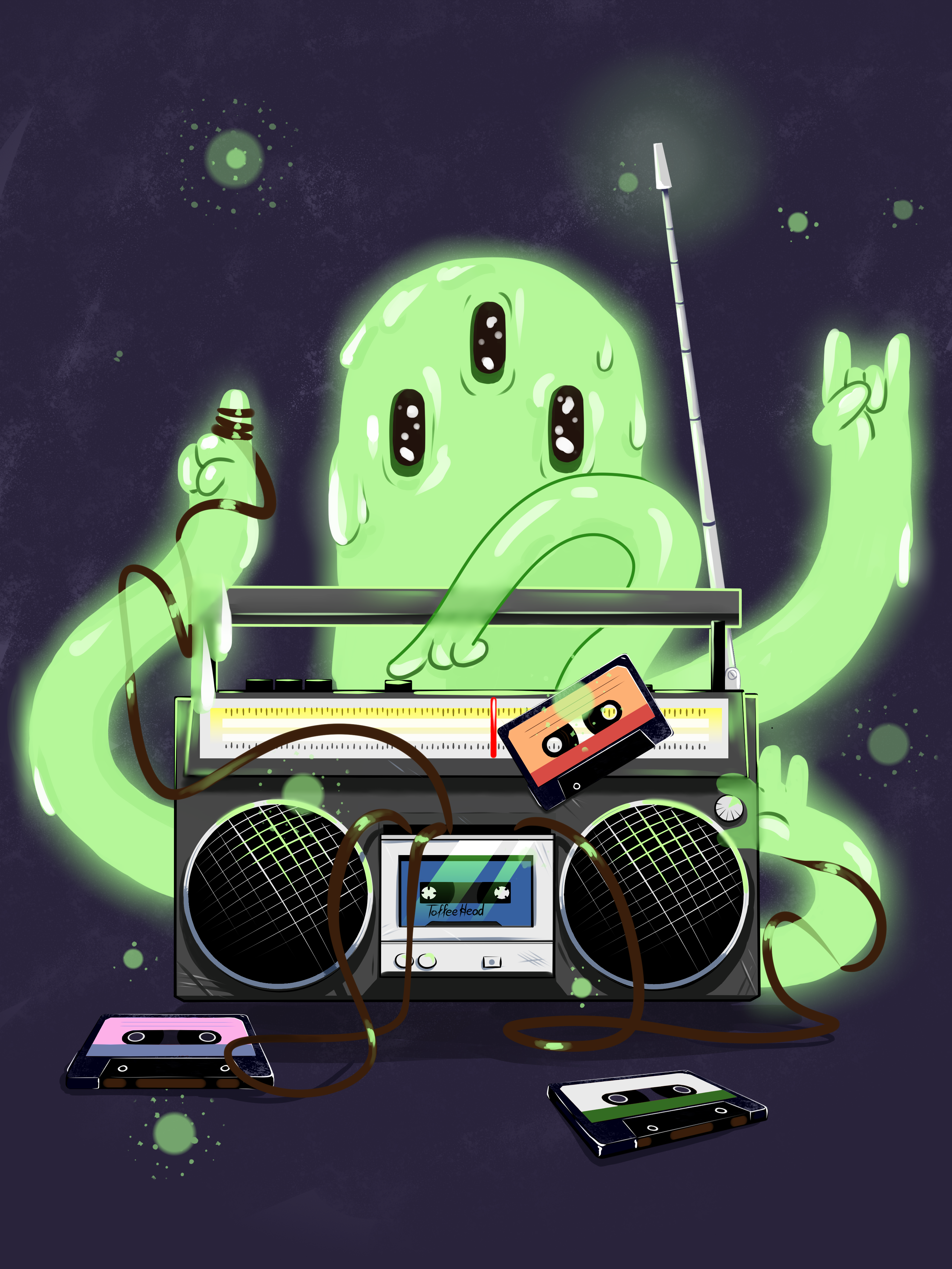 Ghost and radio