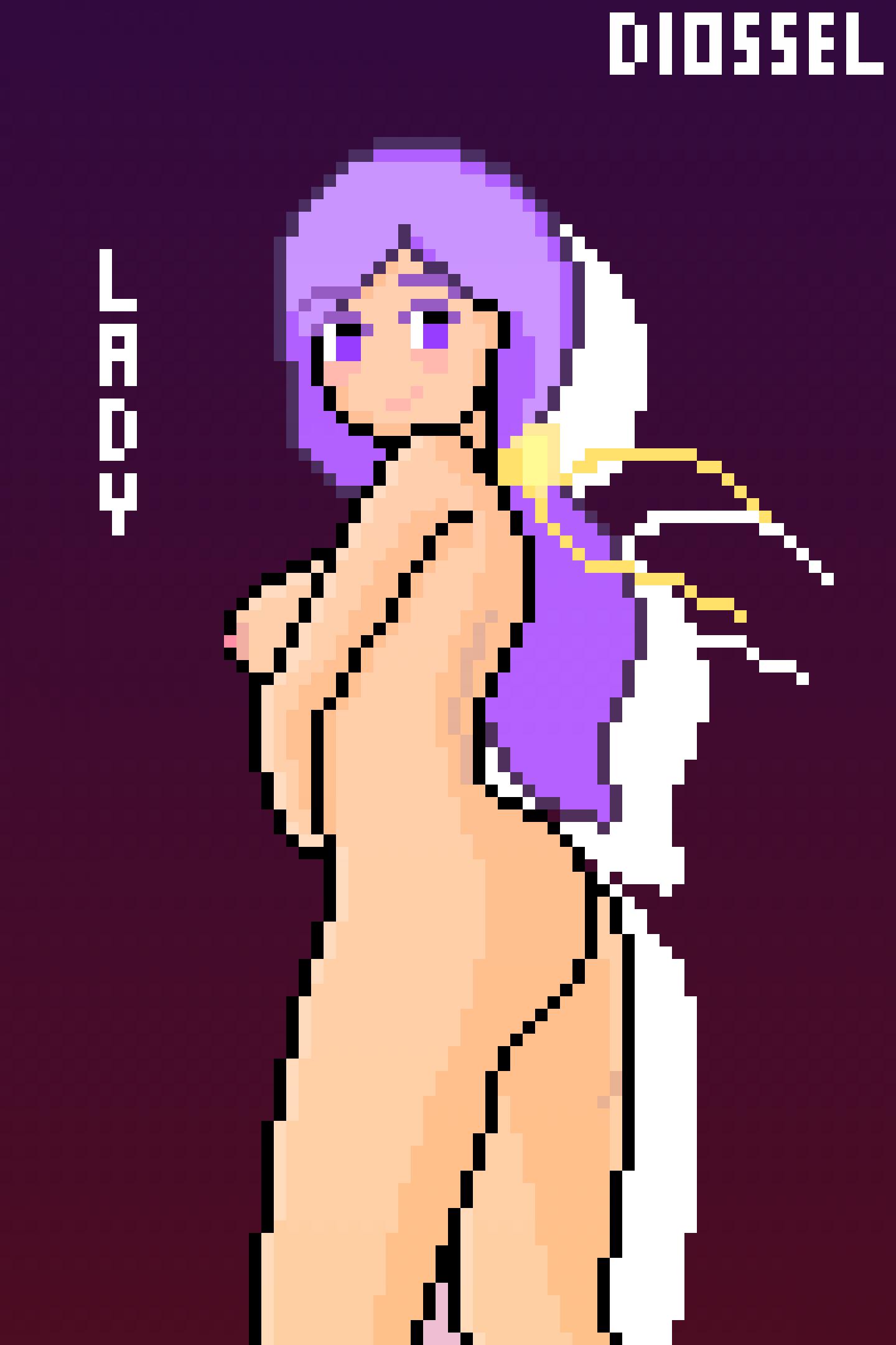Lady OC - Pixel Art 9