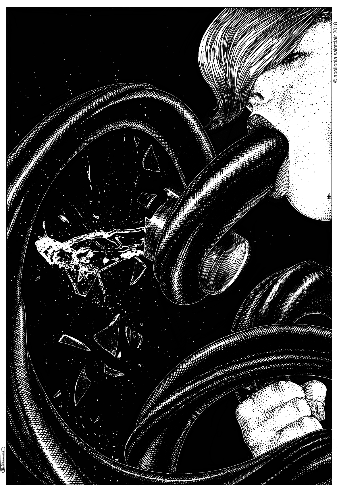 Apollonia Saintclair 781 - 20180402 Le dégoulottage (I can clench you tighter than a fist)