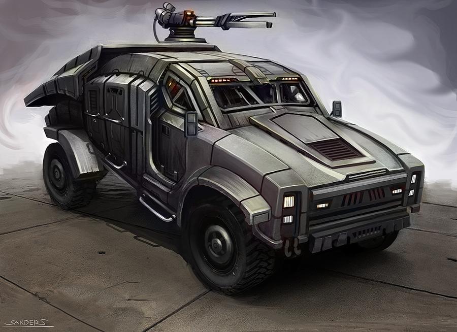 Attack Jeep
