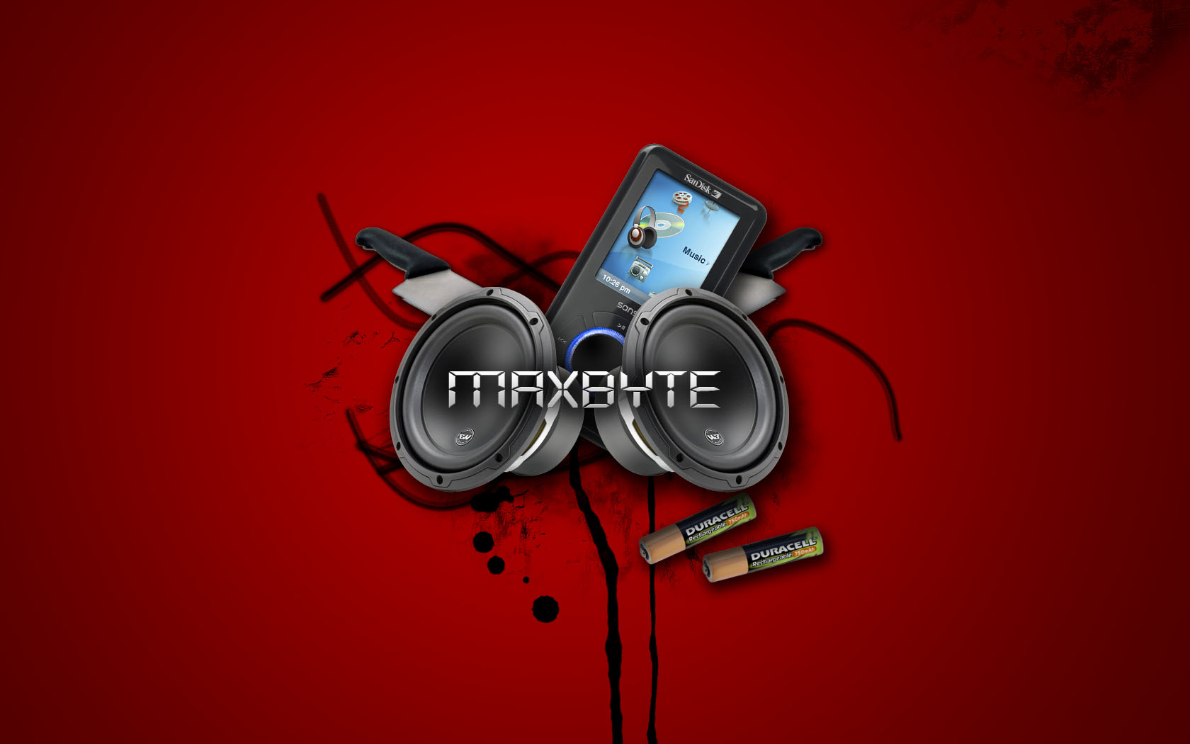 Maxbyte Music Abstract