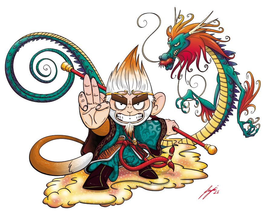 Sun WuKong, the monkey king!