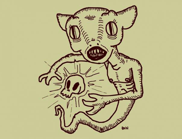 Monster From Darkswamp