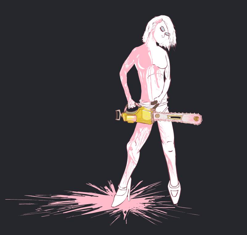 Pink Chainsaws