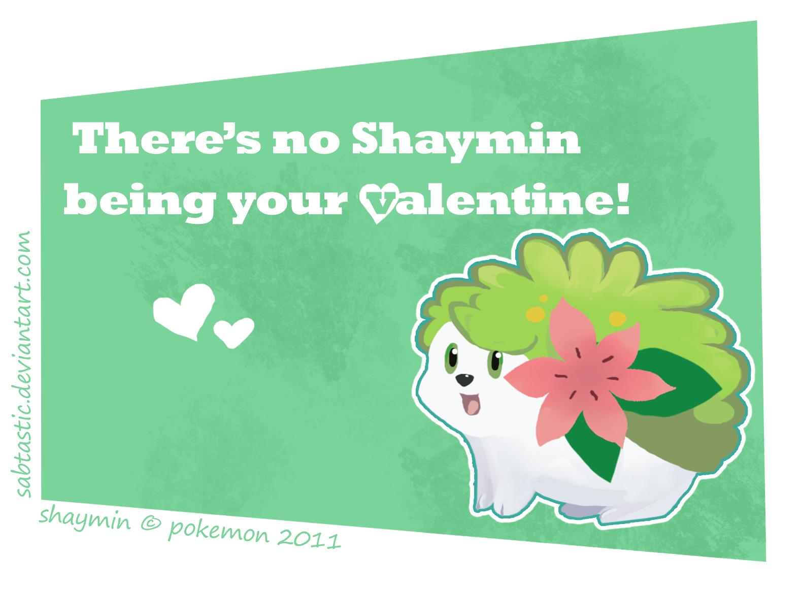 Shaymin Valentine