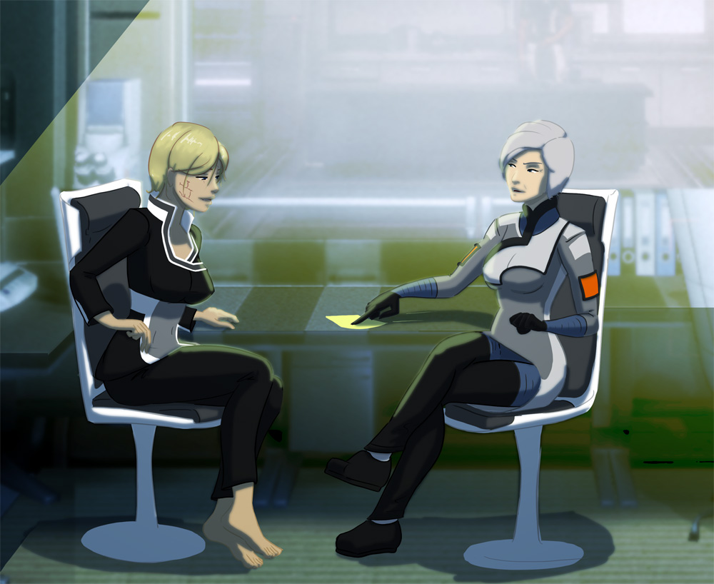 Mass Effect Medical Visit