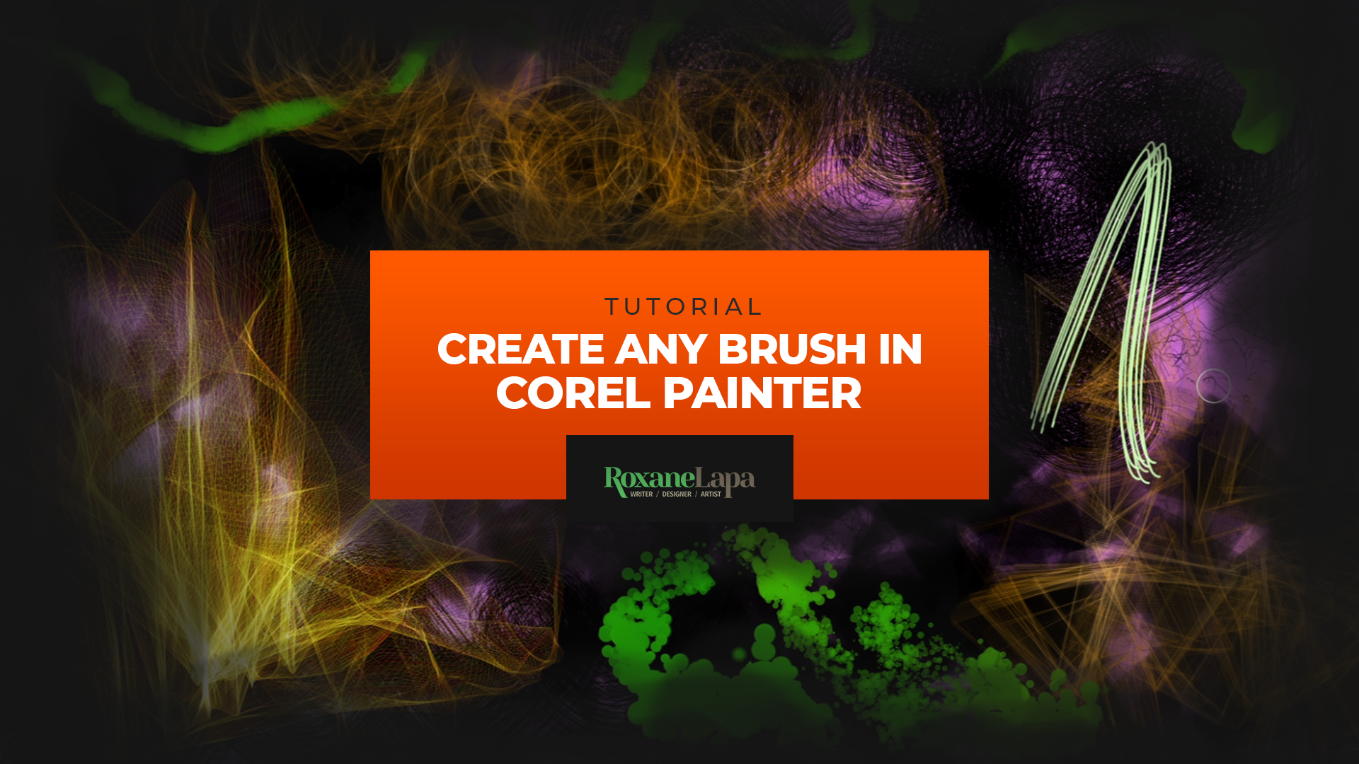 Create Any Brush in Corel Painter | Tutorial