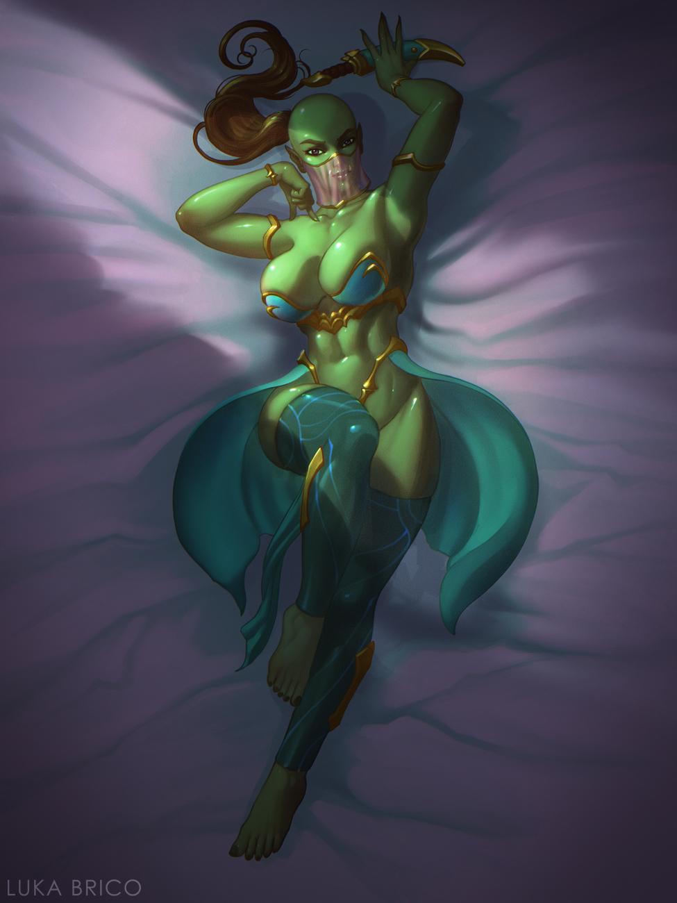 Orc Girl Matron