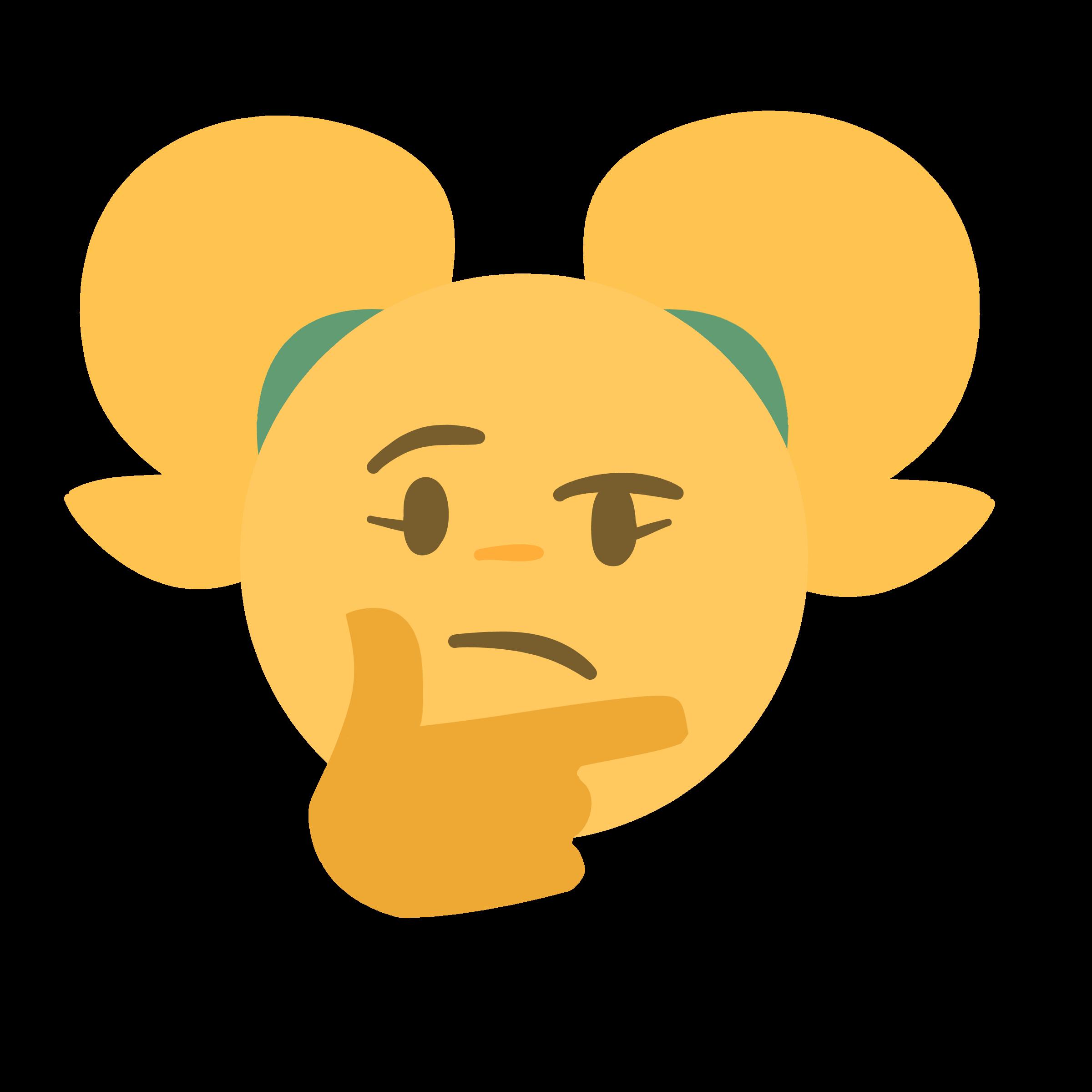 Thinking emoji b by sssir8 by SSlapper on Newgrounds
