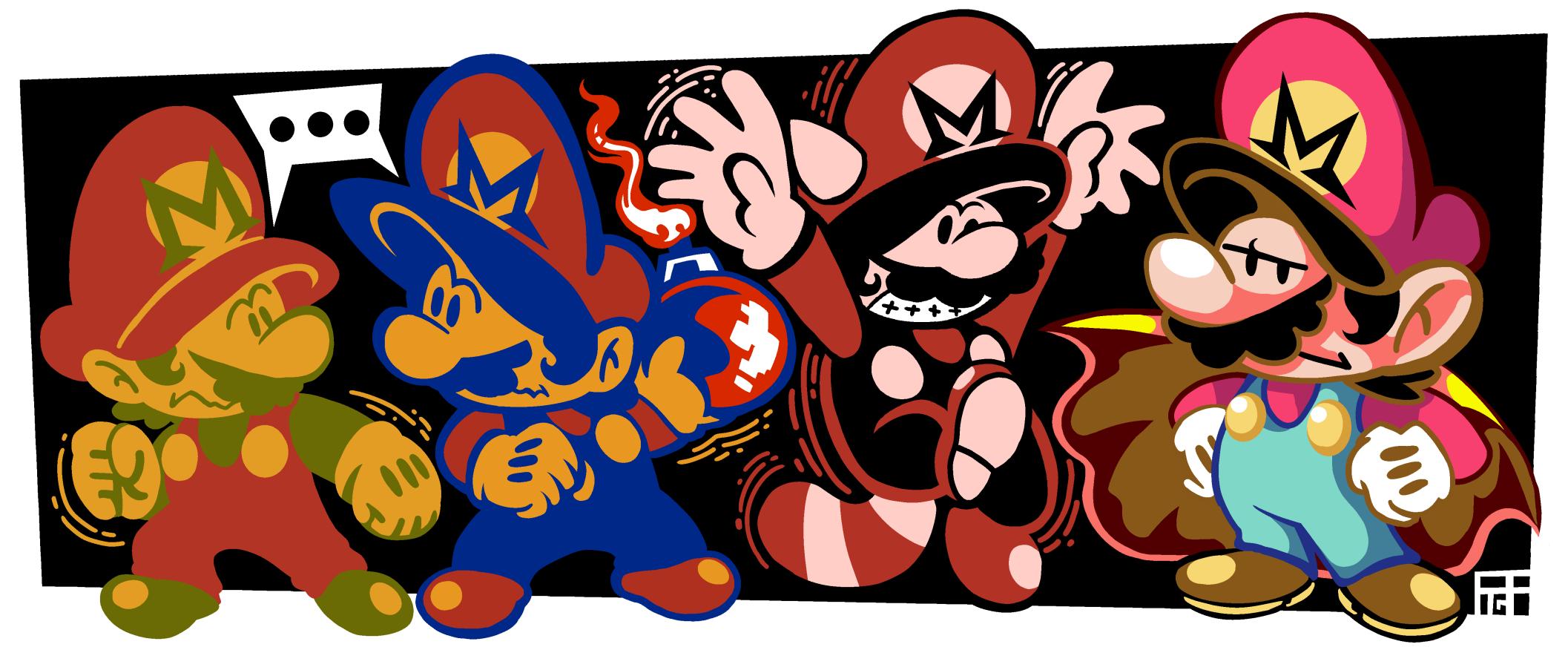 Mario Palettes