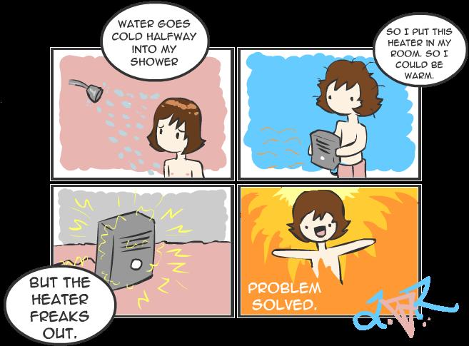 Mudfish Comics - Cold Optimism