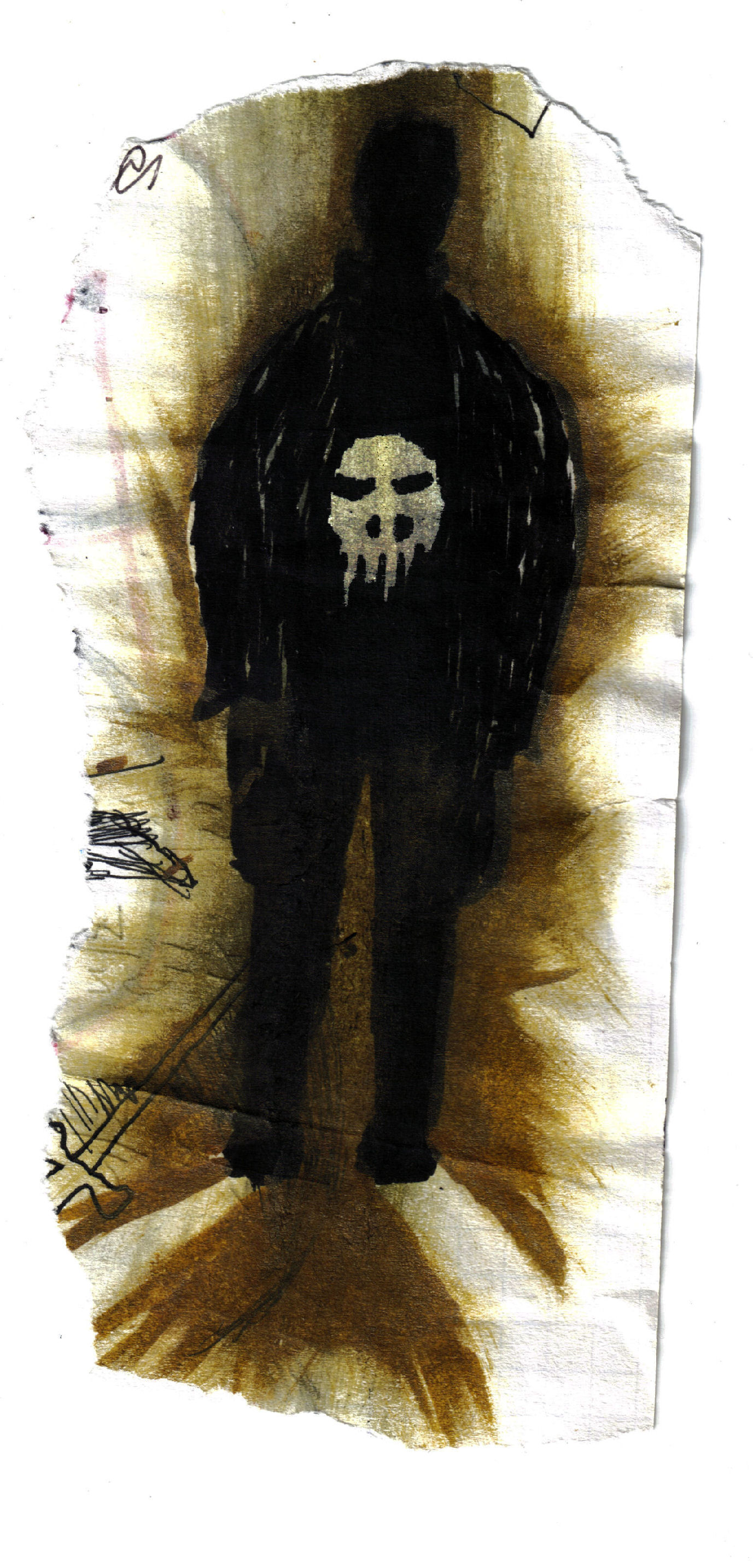 The punisher just by pen