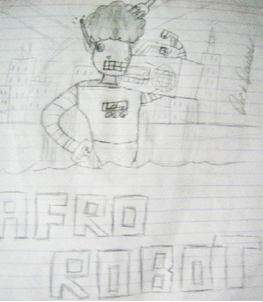 Afro Robot