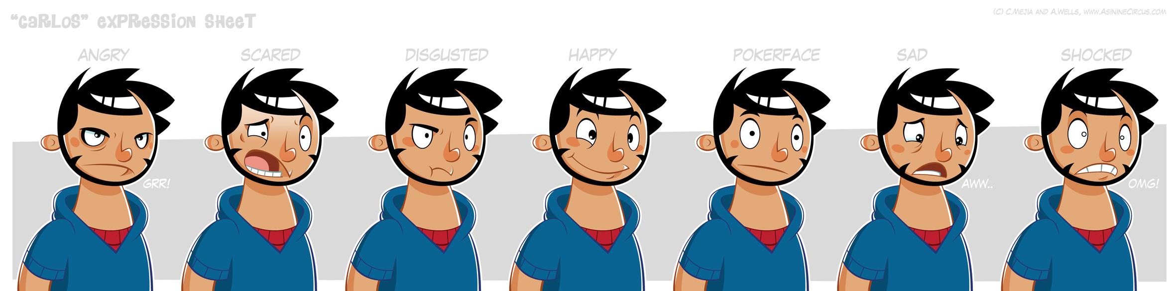 Character Expression Sheet
