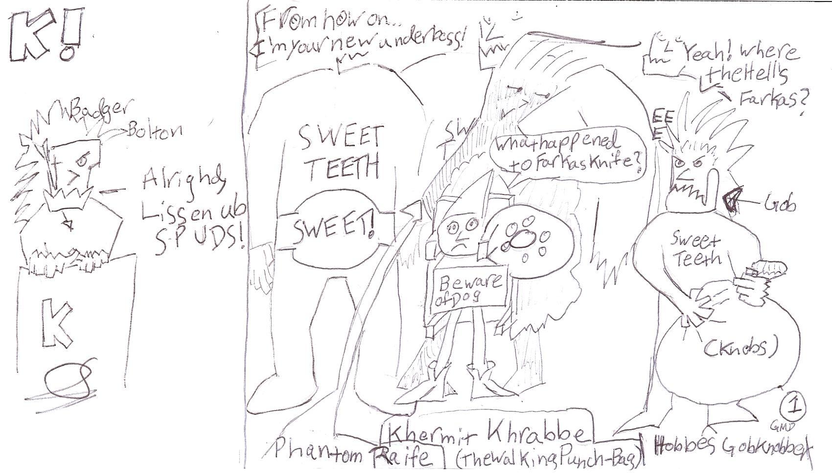 Sweet Teeths Staff Meeting