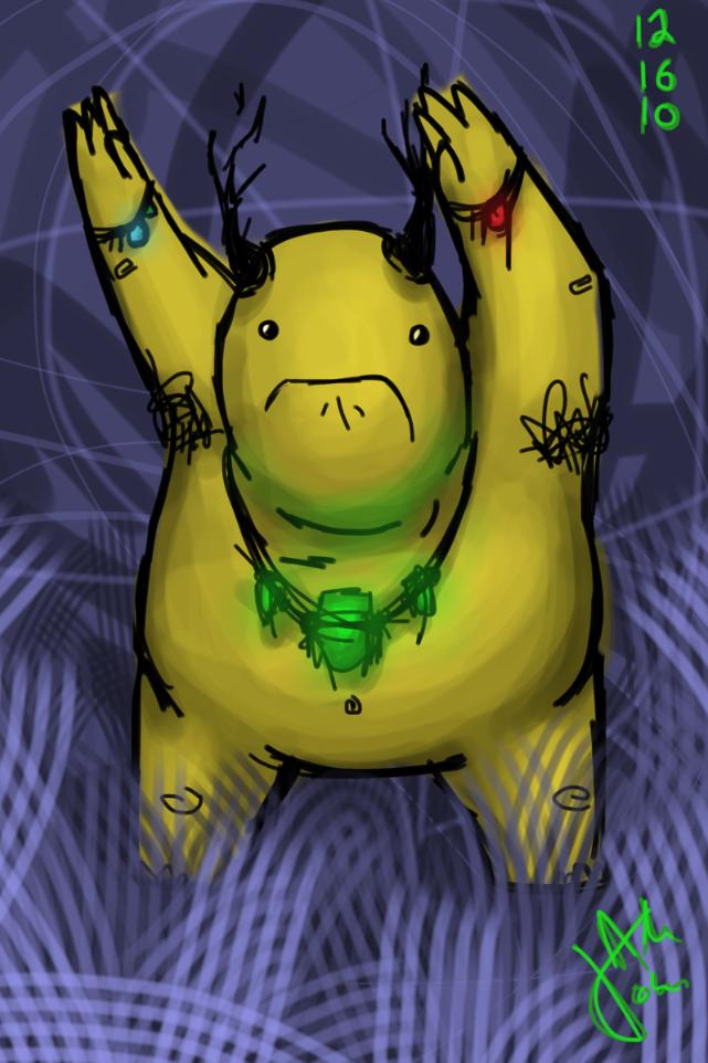 yellow thing