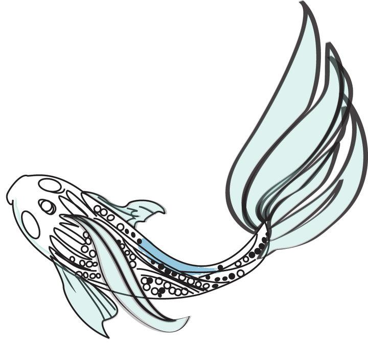 my version of a KOi fish