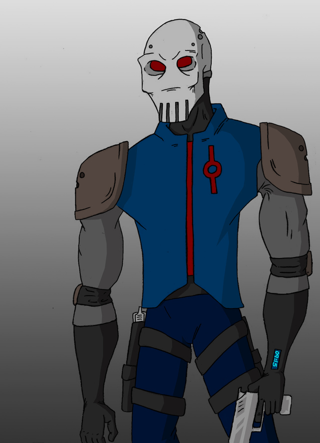 Skull soldier concept