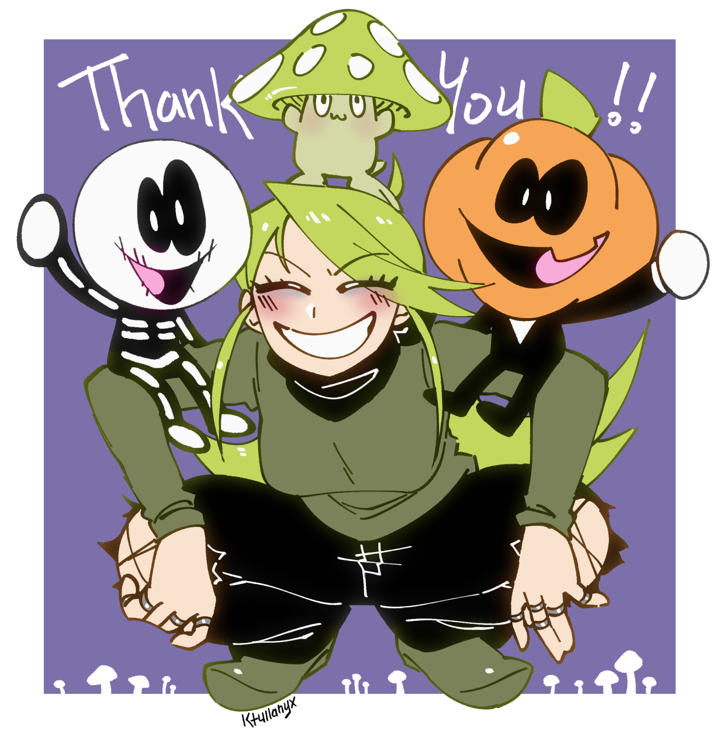 Spooky Thank You