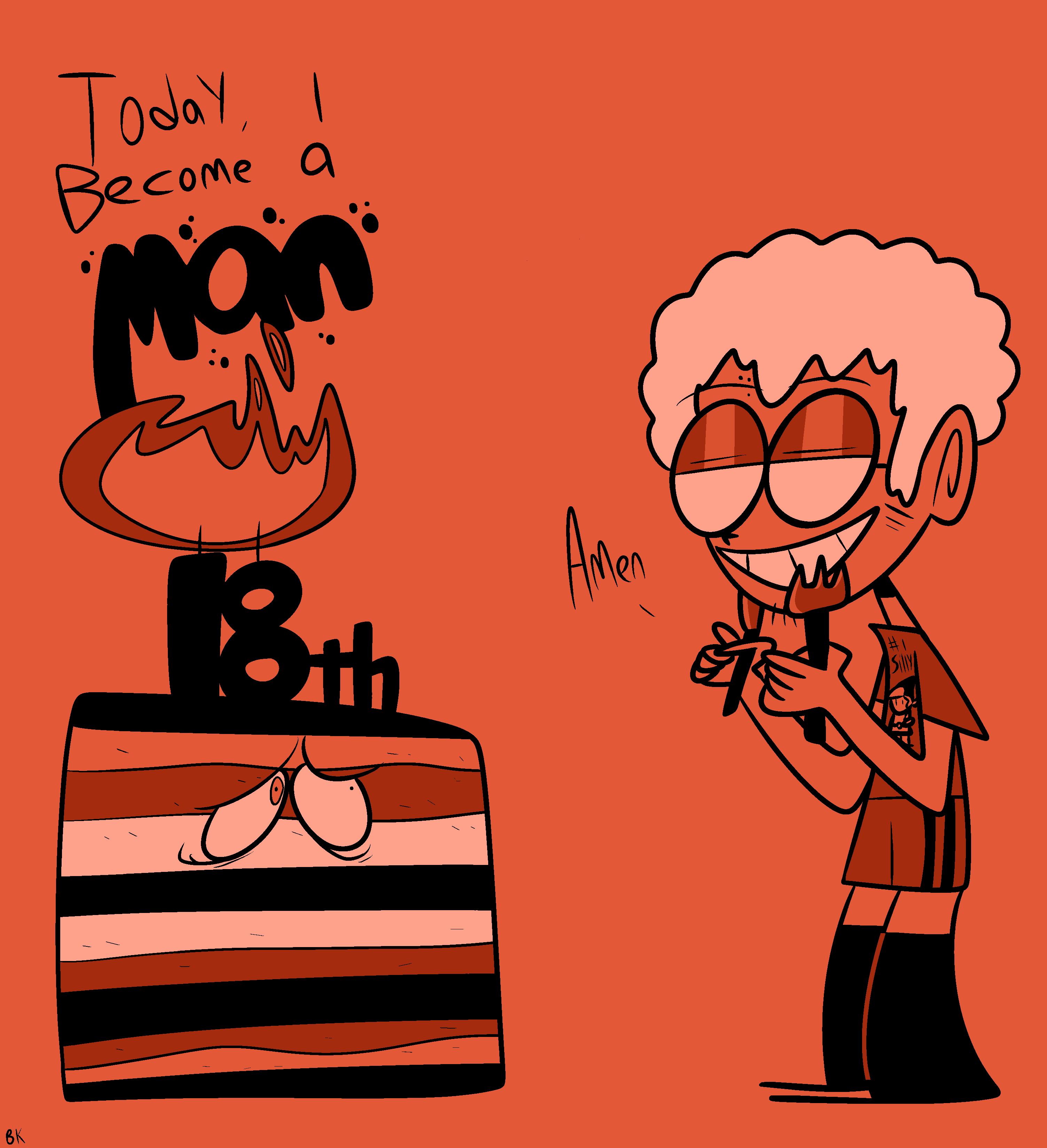 Happy 18th birthday to my smexy self