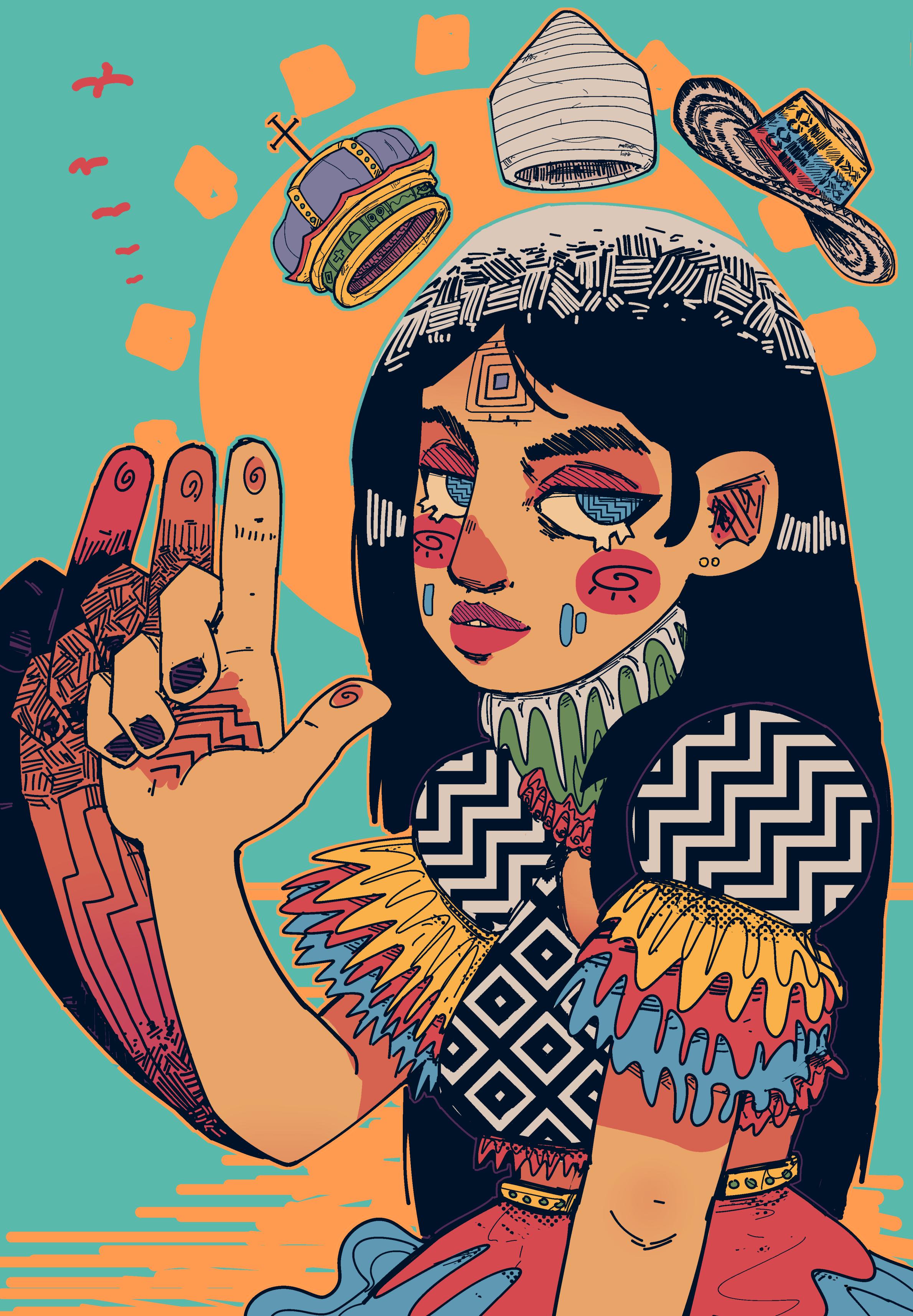 Colombian Gods: CARIBE