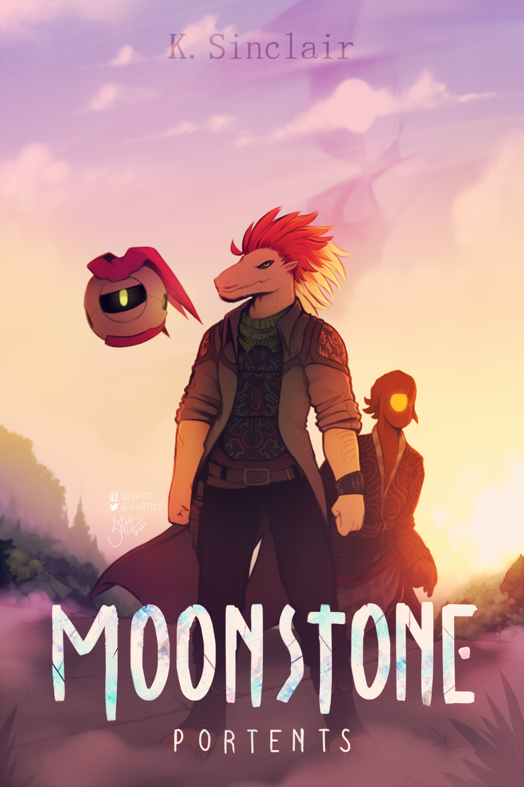 Book Cover - Moonstone Portents