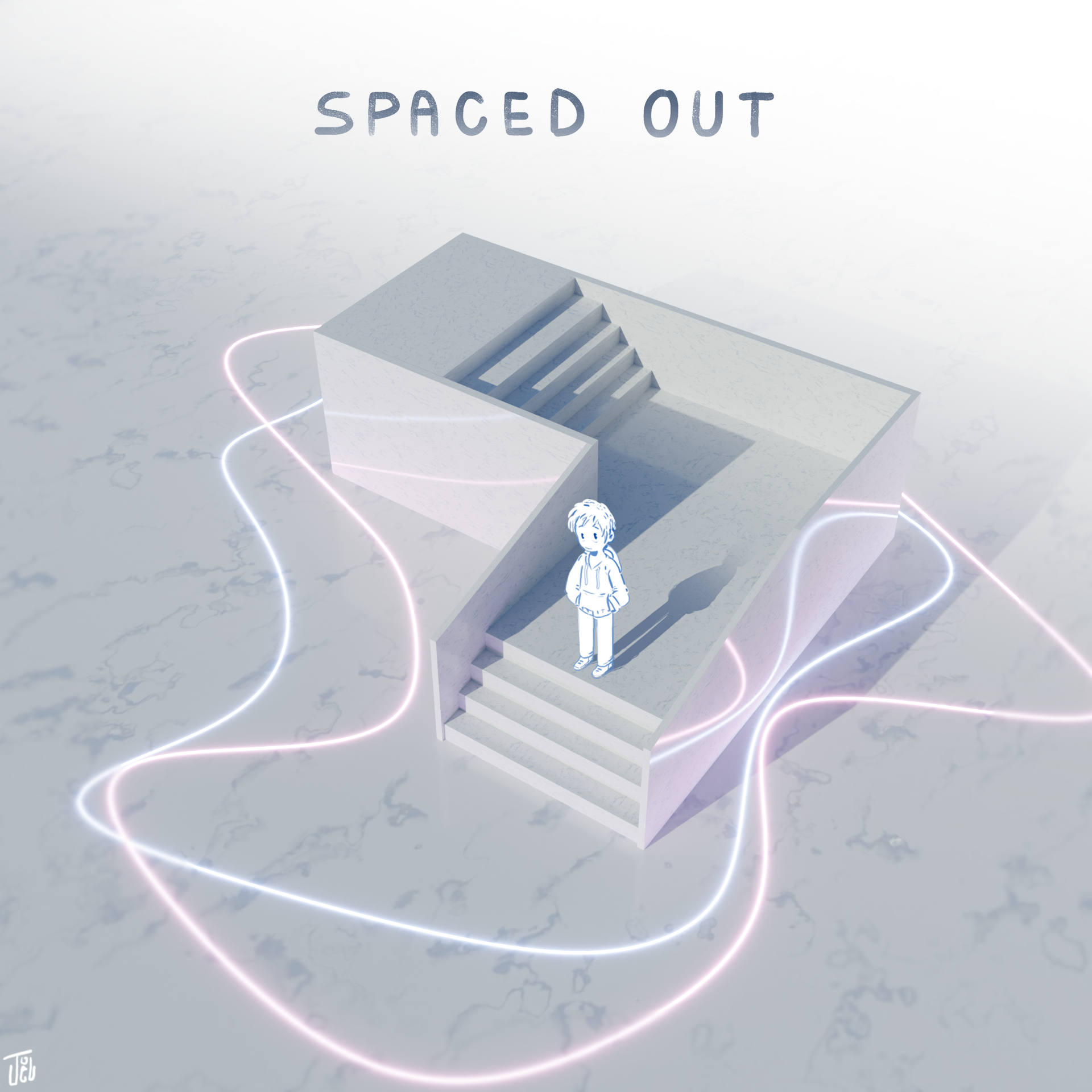 """""""Spaced Out"""" Cover Art"""