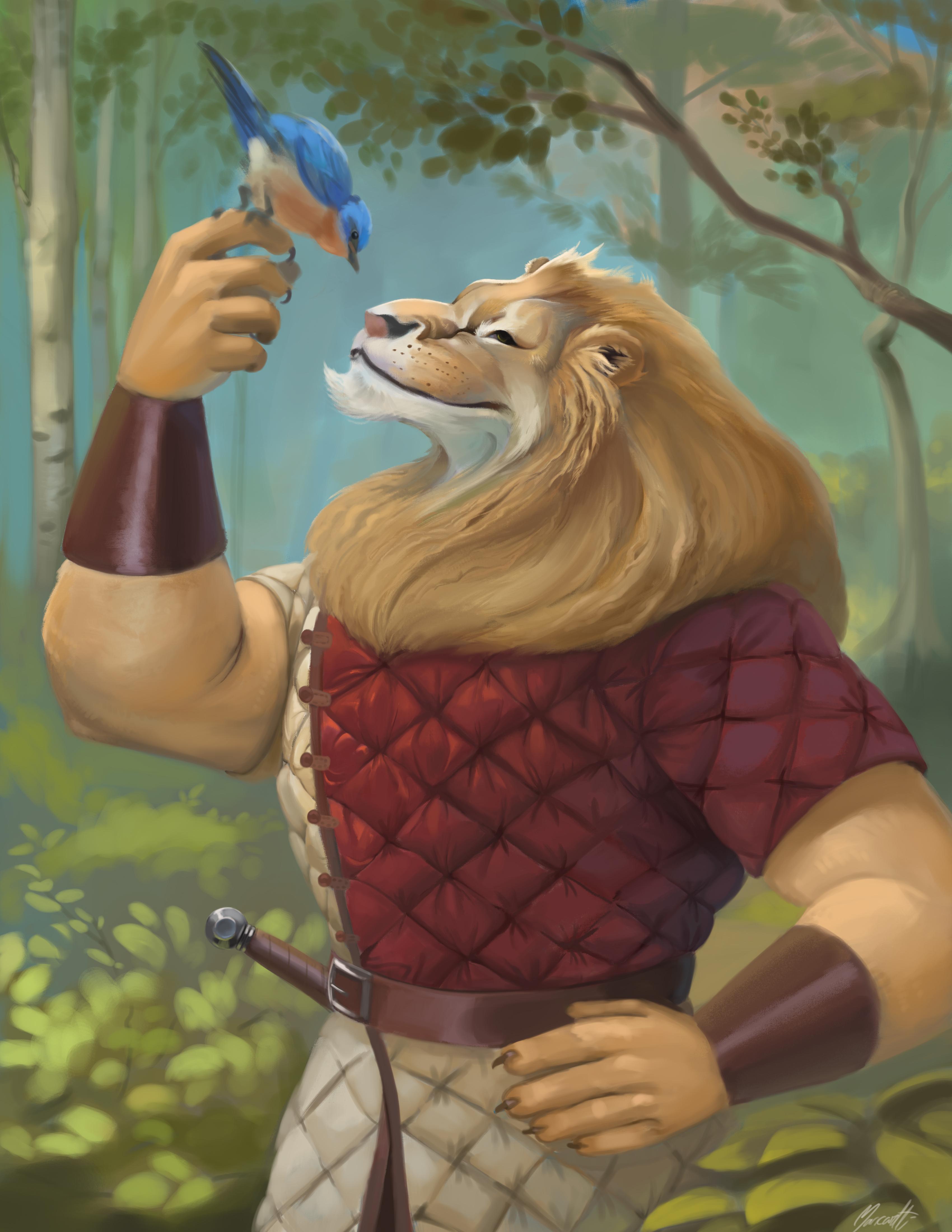 Lion dude