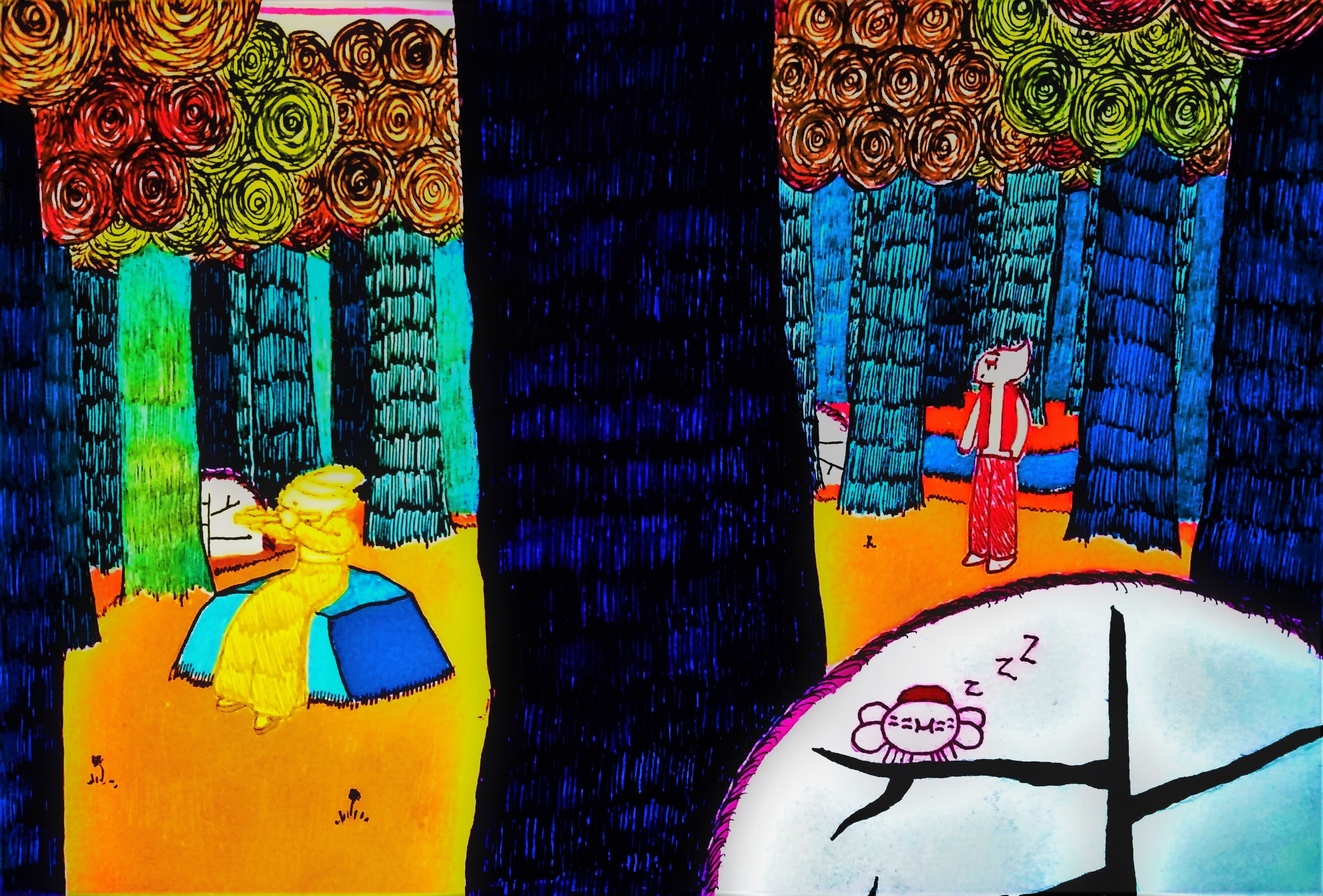 Pillar Forest Day 3 - Magicka Bipolaroid pg 61