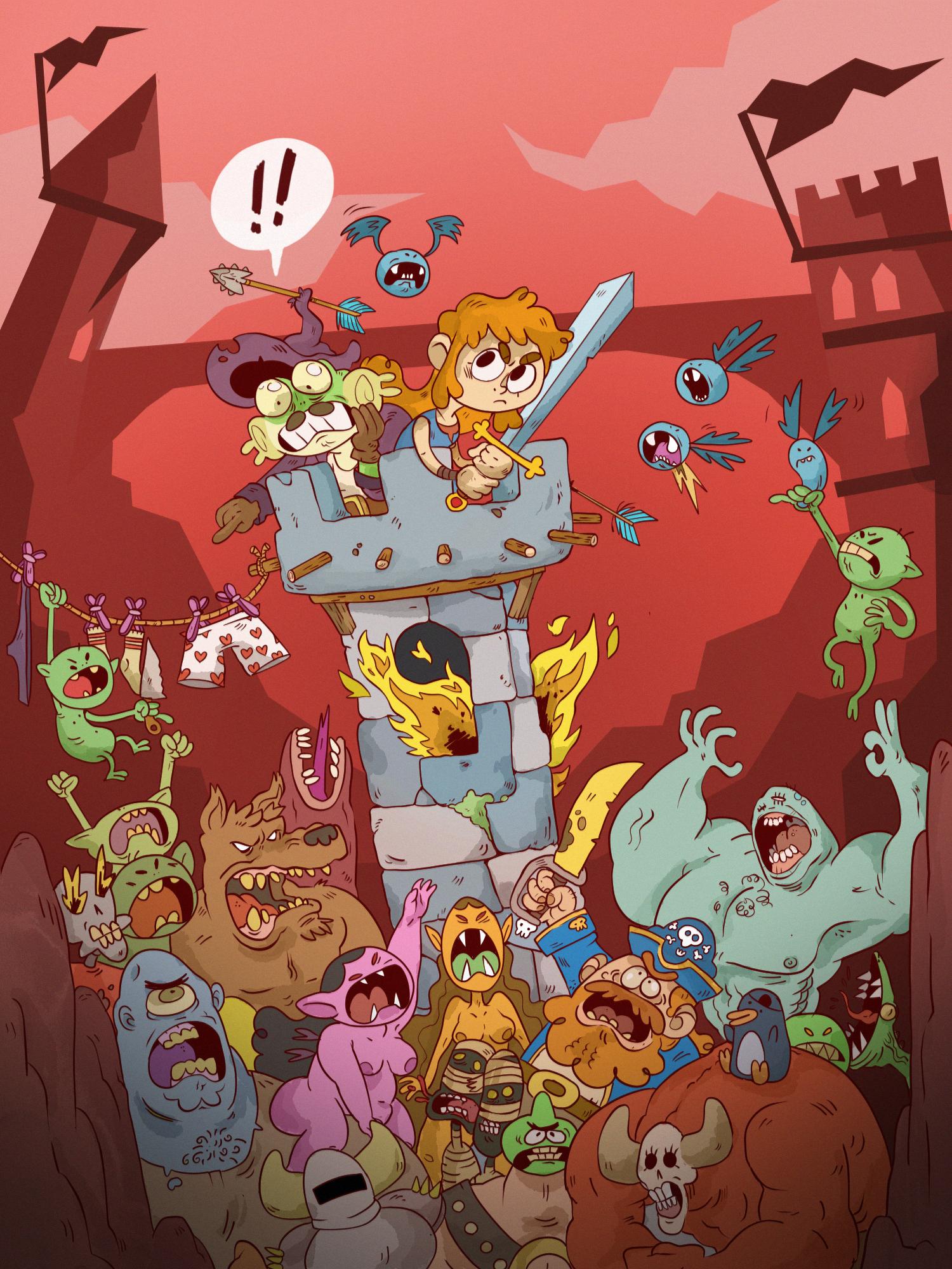 Monsters ambush