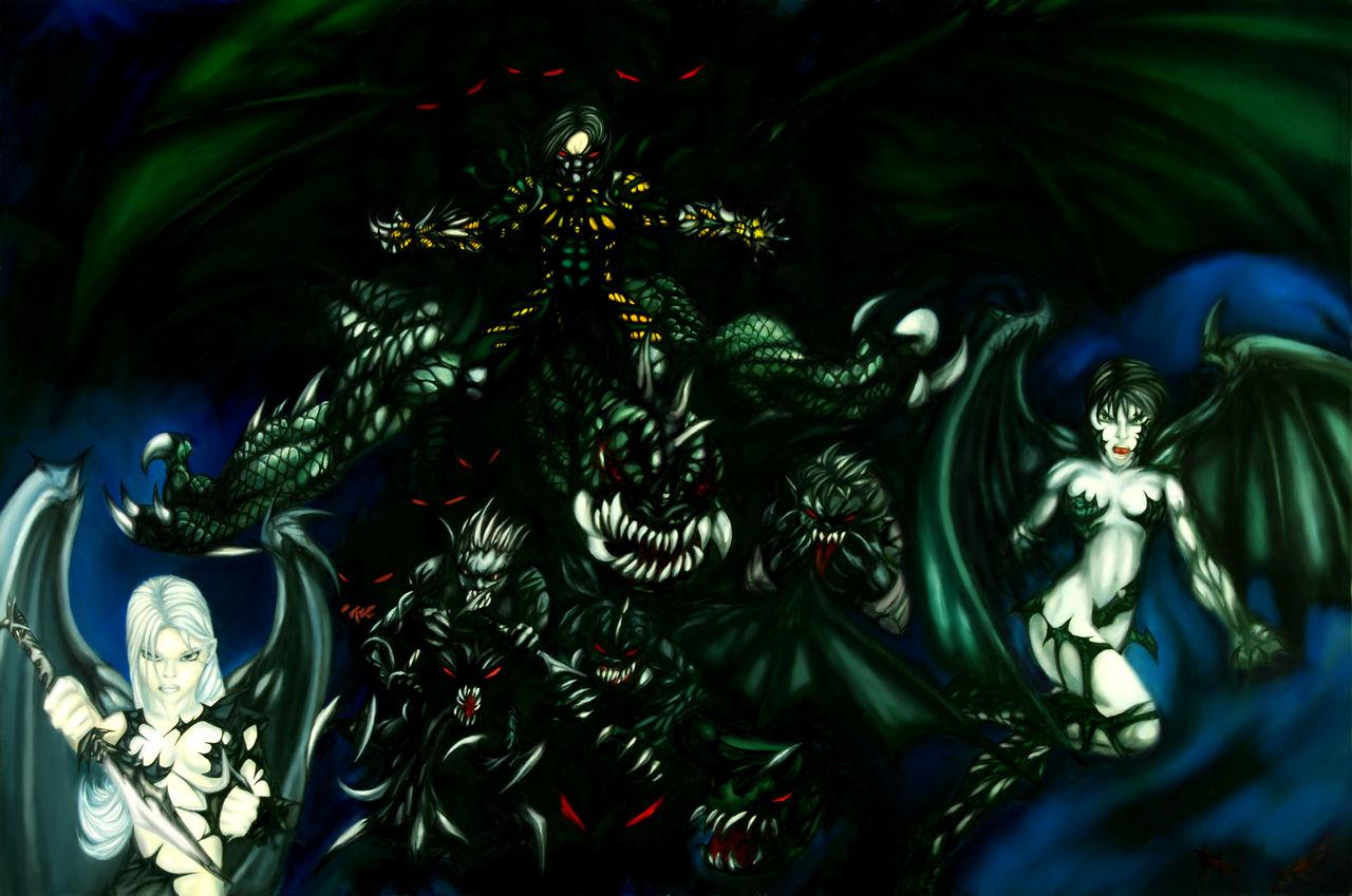 Darkness Fan Art